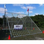 PP-Series | Outdoor Cargo Climbing Nets: White (Per Sq. ft.)