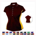 Pro Celebrity Mustang Ladies Polo Shirt