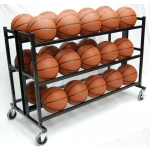 ProCage™ 30-Ball Double Wide HD Ball Cart 3-Tier