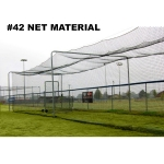 ProCage™ Batting Tunnel Net #42 Material - 70' Long X 14' Wide X 12' High