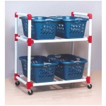 PVC Carry All Cart