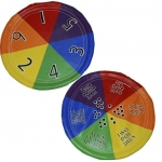 PVC NUMBER WHEEL DISC