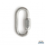"Quick Link Zinc Plated 3/8"" Eye"