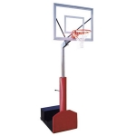 "Rampage II Portable Basketball System 36"" X 48"" Backboard"
