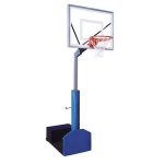 "Rampage III Portable Basketball System 36"" X 54"" Backboard"