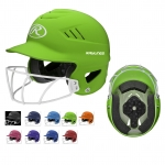 Rawlings Coolflo Highlighter Softball Batting Helmet With Mask