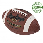 Rawlings PRO5P Leather Official Size Practice Football