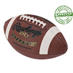Rawlings PRO5P Leather Youth Practice Football