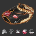 Rawlings Pro Prefered CM33 Pattern One-Piece Closed Web Conventional Back