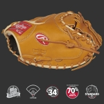 Rawlings PROSCM43RT Pro Prefered CM43 Pattern One-Piece Closed Web Conventional Back