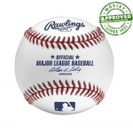 Rawlings ROML Official Major League Baseballs Flatseam Team Pack (Dozen)