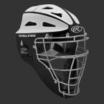 Rawlings SBCHVELY Velo Hockey Style Softball Catchers Helmet Youth