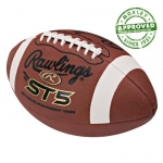 Rawlings ST5 Leather Practice Football