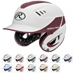 Rawlings Velo Series Two Tone Home Baseball Batting Helmet
