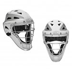 Rawlings Velo 2.0 Two Tone Youth Hockey Style Catcher's Helmet