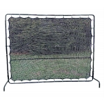 REBOUND TENNIS NET 9' WIDE X 7' HIGH