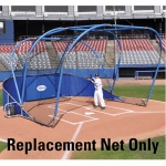 Replacement Net For The Big League Batting Cage