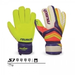 Reusch Serathor S1 Roll Finger Junior Soccer Goalie Gloves Sizes 5-7