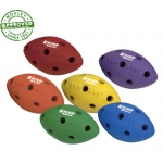 Rhino Skin Hole Pattern Mini Football Set Of 6