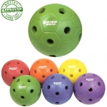 Rhino Skin Hole Pattern Mini Soccer Ball Set Of 6