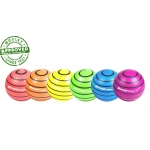 "Rhino Skin Neon 6.3"" Softi Swirl Ball Set Of 6"
