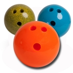 Roto Molded Rubberized PVC Bowling Balls