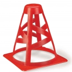 Crushable Safety Cones With Cut Outs Sizes