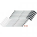 "Shield 53"" Outdoor Aluminator High School/Collegiate Floor Hockey Set"