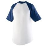 Augusta Short Sleeve Baseball Jersey-youth