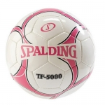 Spalding TF 5000 NFHS Soccer Ball Pink/White Size 5