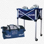 Spalding Volley Caddy Folding Volleyball Cart