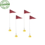 Spring Loaded Universal Corner Flags Set Of 4