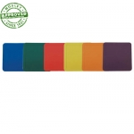 Square Poly Base Markers Set Of 6
