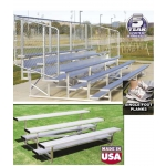 Stationary Aluminum Bleachers
