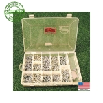 Steel Track Spike Kit - 1500 Spikes