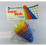 SUPER BIRD -XL Badminton Birdies (Pack of 3)