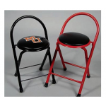 Tall Locker Room Stool Without Print