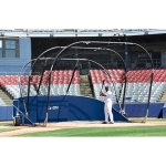 The Big League Bomber All Star Portable Baseball Batting Cage