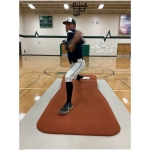 The Portolite TPM-1150 Outdoor Pro Pitching Mound (Green or Clay)