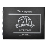 The Vanguard HARDCOVER Basketball Scorebook