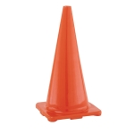 "Traffic Cones - 28"" Flexible Vinyl Game Cones - Orange"