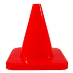 Traffic Cones - Flexible Vinyl Game Cones 4 Inch Height