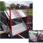 Two-Wheel Hurdle Cart