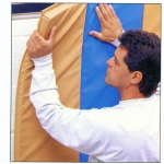 USE YOUR MATS FOR WALL PROTECTION WITH VELSTIK 4' LENGTHS