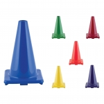 Traffic Cones - Flexible Vinyl Game Cones 12 Inch Height