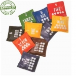 Vinyl Numbered Bean Bags Set Of 10