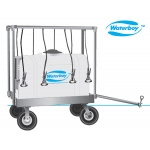 Waterboy Horizontal Power Model Gen 2  -  55 Gallon - All Drain Tank