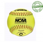 "Worth 12"" Official NCAA Championship Softball (Dozen)"