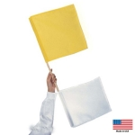 Yellow / White Umpires Flags