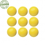 Yellow Dimpled Pitching Machine Baseballs (Dozen)